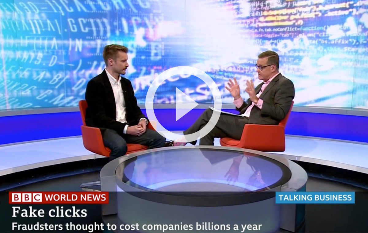 BBC World News Interview with Gary Danks of Machine Advertising
