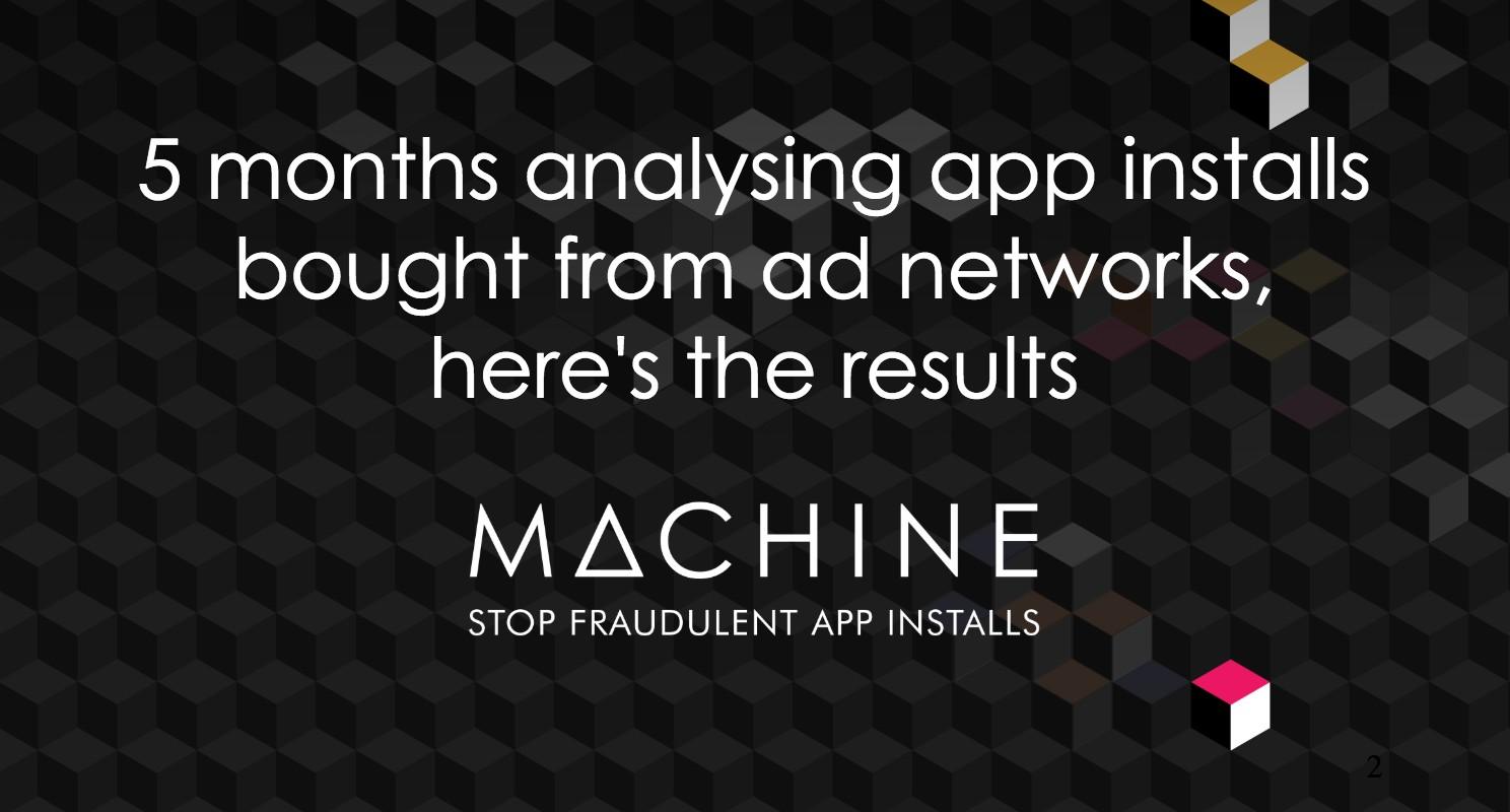Blog: Machine Report 1.0