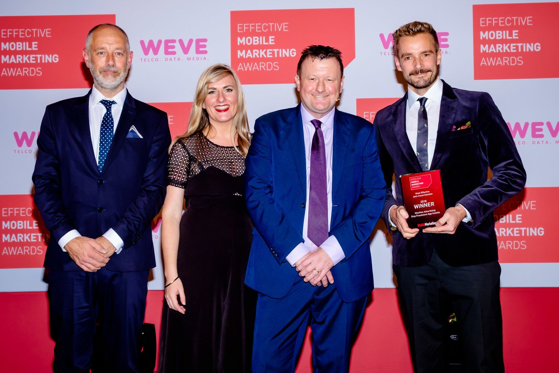 Machine Wins an Effective Mobile Marketing Award